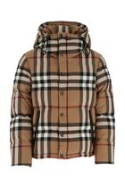 BURBERRY ♠Embroidered cotton padded jacket