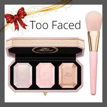 ☆too faced☆3色ハイライターパレット&ブラシ
