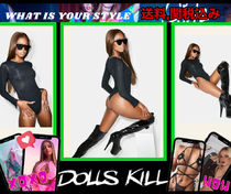 個性惹き立つ【 DOLLS KILL 】FINESSE LONG SLEEVE BODYSUIT