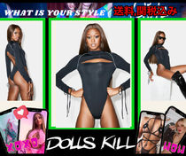 個性惹き立つ【 DOLLS KILL 】LONG SLEEVE BODYSUIT
