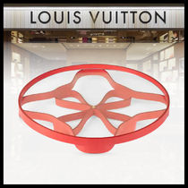 【LOUIS VUITTON】LEATHER ROSACE TRAY MM BY ATELIER OI トレイ