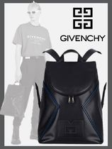 【GIVENCHY】レザーバックパック コントラスティング ディテール