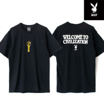 【最短翌日着】HUF × PLAYBOY CLUB KEY S/S TEE TS01464