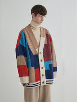 TRUNK PROJECT(トランク プロジェクト) カーディガン Trunk Project☆Color Mixed Wool Cardigan Jacket★BTS着用