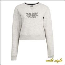 【TOM FORD】 cropped sweat