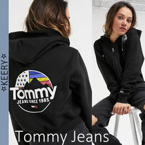 New!/Tommy Jeans/ロゴ ジップフーディー