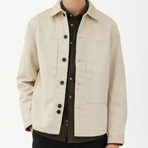 "ARKET(アーケット) シャツ ""ARKET MEN"" Workwear Overshirt LightBeige"