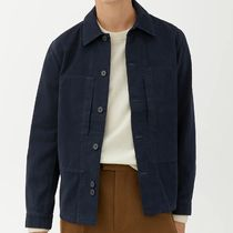 "ARKET(アーケット) シャツ ""ARKET MEN"" Workwear Overshirt DarkBlue"