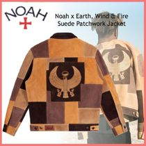 20AW◆Noah x Earth, Wind & Fire◆Suede Patchwork Jacket