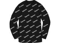 20 FW Supreme × Hanes Thermal Crew Week 13