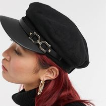 ASOS River Island hardware baker boy hat