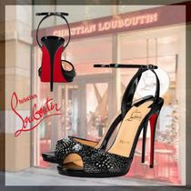 21ss新作◆Christian Louboutin◆ Loubiloo 120mm サンダル