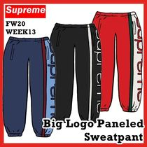 Supreme Big Logo Paneled Sweatpant  FW 20 WEEK 13