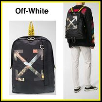 "Off-white ★""Pascal Arrow""バックパック【国内発・関税込】"