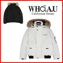 ◆WHO.A.U◆UNISEX◆Yosemite N.P short down jacket◆正規品◆