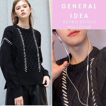 【General IDEA】RETRO STITCH PULLOVER★Seventeen Hoshi着用★