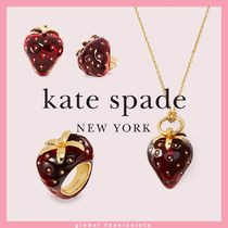 kate spade tutti fruity strawberry ネックレス ピアス リング
