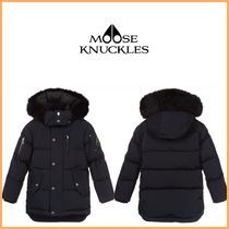MOOSE KNUCKLES(ムースナックルズ) キッズアウター 大人もOK MOOSE KNUCKLES ファー付きダウンジャケット 10-14歳