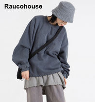 RAUCOHOUSE Pigment Embroidered Sweatshirt MTM T-shirt