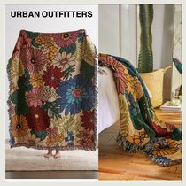 ☆URBAN OUTFITTERS☆MADE IN USA Vintage風花柄ブランケット