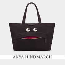 ★関税込み【ANYA HINDMARCH】Eyes Nylon Tote トートバッグ