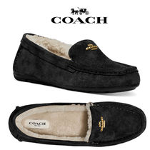 COACH◆Marley Moccasin Slippers モカシン スリッパ