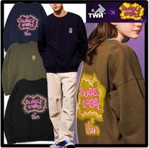 ☆関税込☆TWN x BUBBLEBOBBLE☆Signature Neon Sweat Shirt.s☆