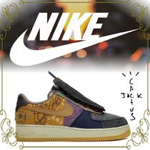 【NIKE x Travis Scott】コラボ 'Air Force 1 Low 'Cactus Jack'