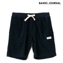 【最短翌日着】BANKS BIG BEAR FLEECE WALKSHORT パンツ WSE0015