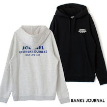 【最短翌日着】BANKS HEADING HOOD GRAPHIC FLEECE WFL0287