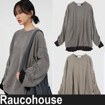 ★Raucohouse★『SPECIEAL』sleeve shirring long sleeve