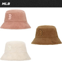 ★20-21FW新作★MLB★CHOUXCREAM FLEECE BUCKET HAT [32CPHJ011]