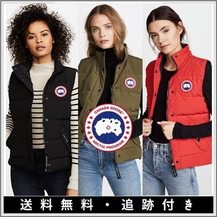 【SALE】CANADA GOOSE〓Freestyle ロゴ 極暖ベスト