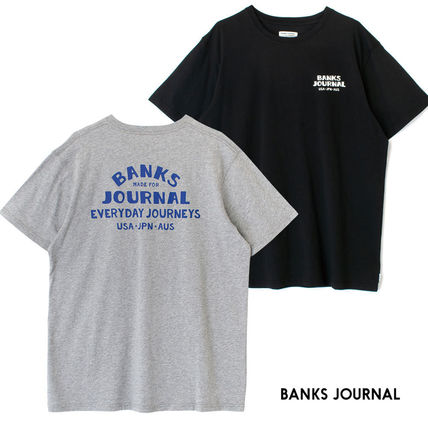 BANKS Tシャツ・カットソー 【最短翌日着】BANKS EVERYWHERE CLASSIC TEESHIRT 半袖 WTS0543
