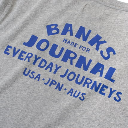 BANKS Tシャツ・カットソー 【最短翌日着】BANKS EVERYWHERE CLASSIC TEESHIRT 半袖 WTS0543(7)