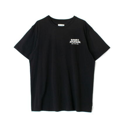 BANKS Tシャツ・カットソー 【最短翌日着】BANKS EVERYWHERE CLASSIC TEESHIRT 半袖 WTS0543(10)