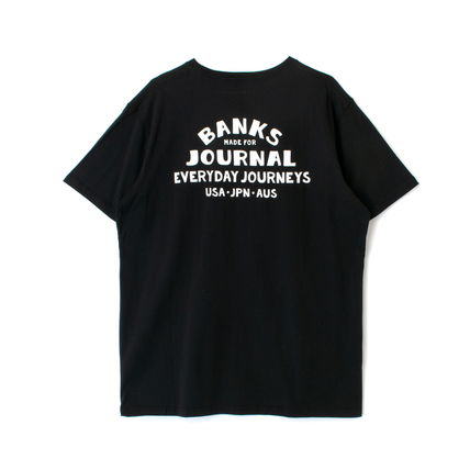 BANKS Tシャツ・カットソー 【最短翌日着】BANKS EVERYWHERE CLASSIC TEESHIRT 半袖 WTS0543(11)