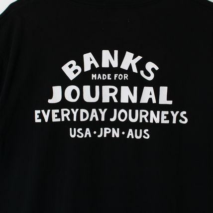 BANKS Tシャツ・カットソー 【最短翌日着】BANKS EVERYWHERE CLASSIC TEESHIRT 半袖 WTS0543(12)