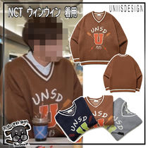 【UNSD】UNSD V-NECK PREPPIE KNIT★NCT WINWIN着用★