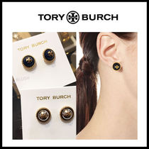 【TORY BURCH】ROPE ロゴ ピアス