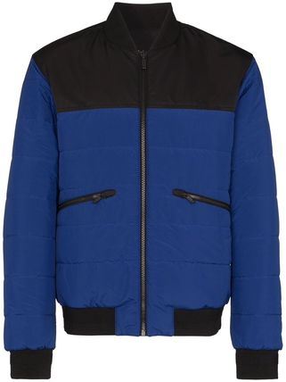 Z Zegna ブルゾン ジー・ゼニアZ Zegna Reversible Quilted Bomber Jacketブルゾン(2)
