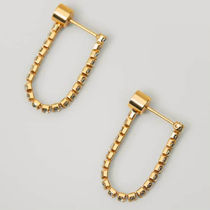 Massimo Dutti【NEW】Gold-plated wrap earrings
