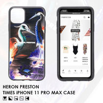 【日本未入荷】HERON PRESTON★TIMES iPHONE 11 PRO MAX ケース