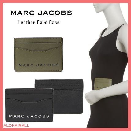 【MARC JACOBS】Leather Card Case♪パスケース♪定期入れ♪