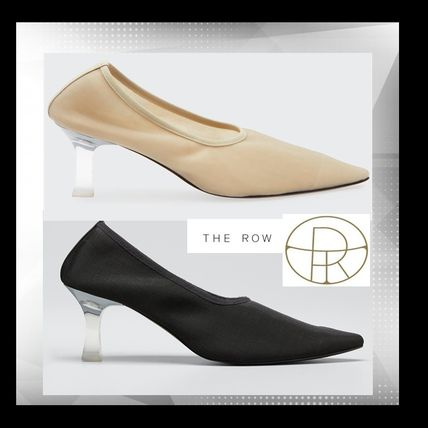 【The Row】 Sock Pump in Nylon ★2色★エレガント