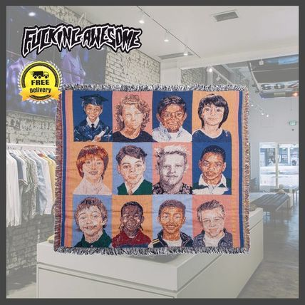 【国内発送】送関込/Fucking Awesome/Felt Class Photo Blanket
