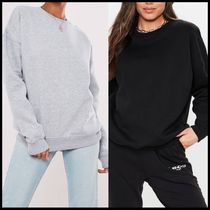 Missguided oversized basics sweat