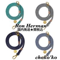 関送込【Ron Herman】UP-CYCLED ROPE LEASH ペットリード 4色