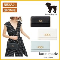 【Kate Spade】toujours chain clutch◆国内発送◆