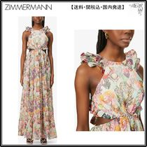 Zimmermann☆ワンピース☆Love printed cotton, silk and linen-